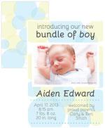 birth announcement boy